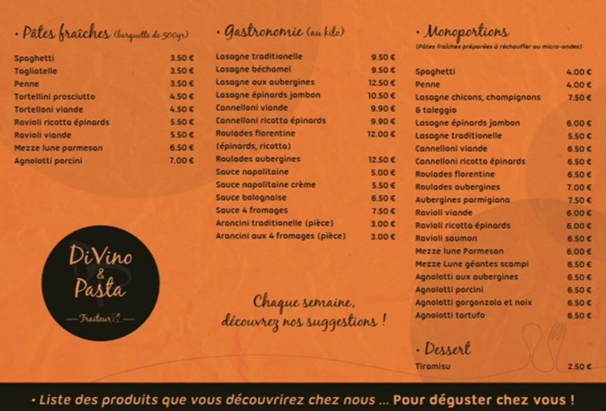magasin Divino e Pasta