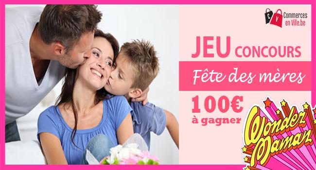 Concours Gratuit – Fête des mères – Gagnez un bon d'achat de 100€