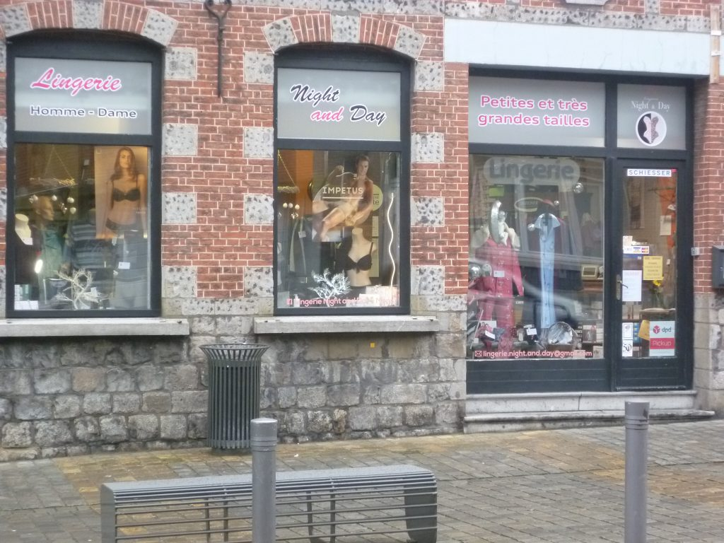 magasin ESPACE LINGERIE NIGHT AND DAY