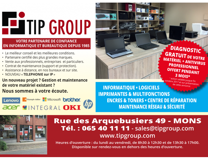 magasin TIP Group Informatique