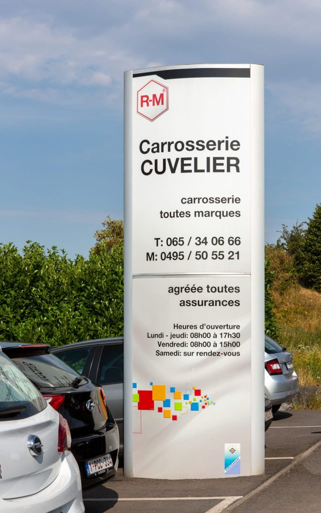 magasin Carrosserie Cuvelier SA