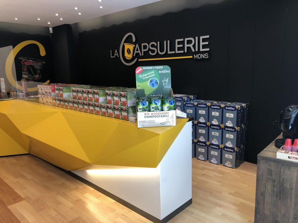 magasin La Capsulerie